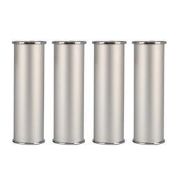 150x50 мм Серебряная Мебель ножки из алюминиевого сплава высота регулируемые ножки шкафа ножки стола