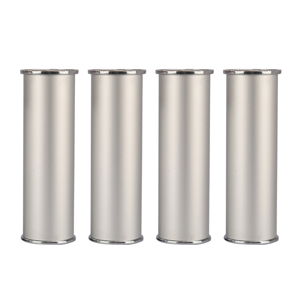 150x50MM Silver Furniture Legs Aluminum Alloy Height Adjustable Feet Cabinet Table Legs