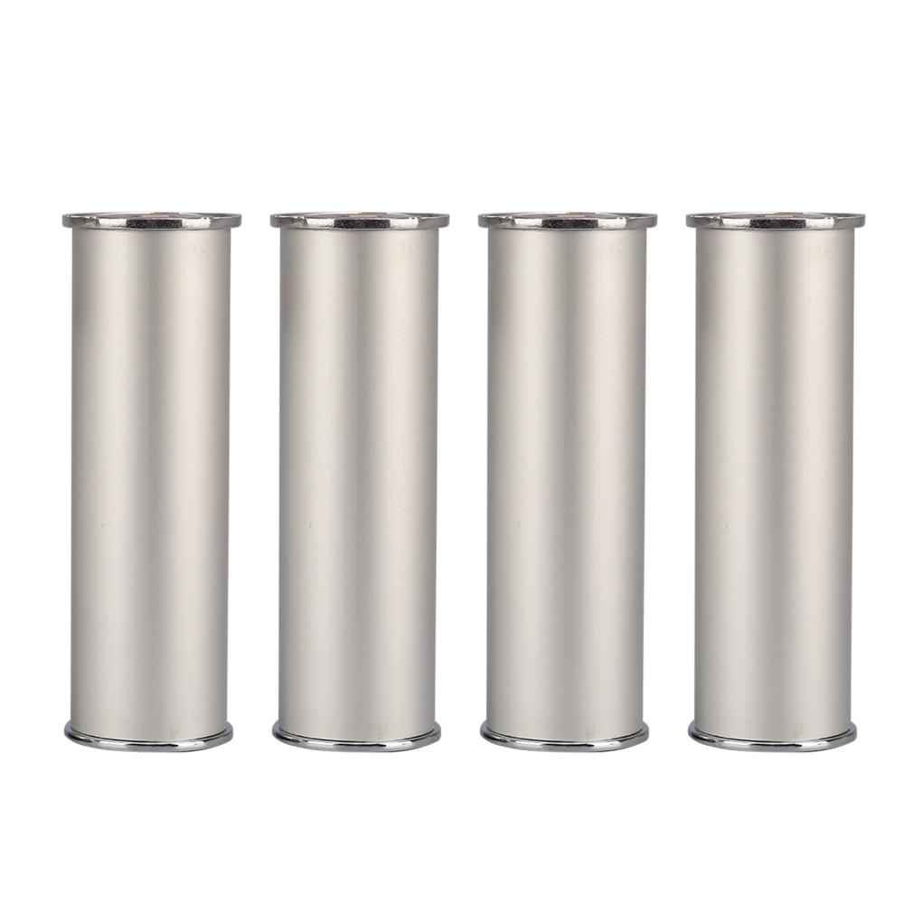 150x50MM Silver Furniture Legs Aluminum Alloy Height Adjustable Feet Cabinet Table Legs цены онлайн