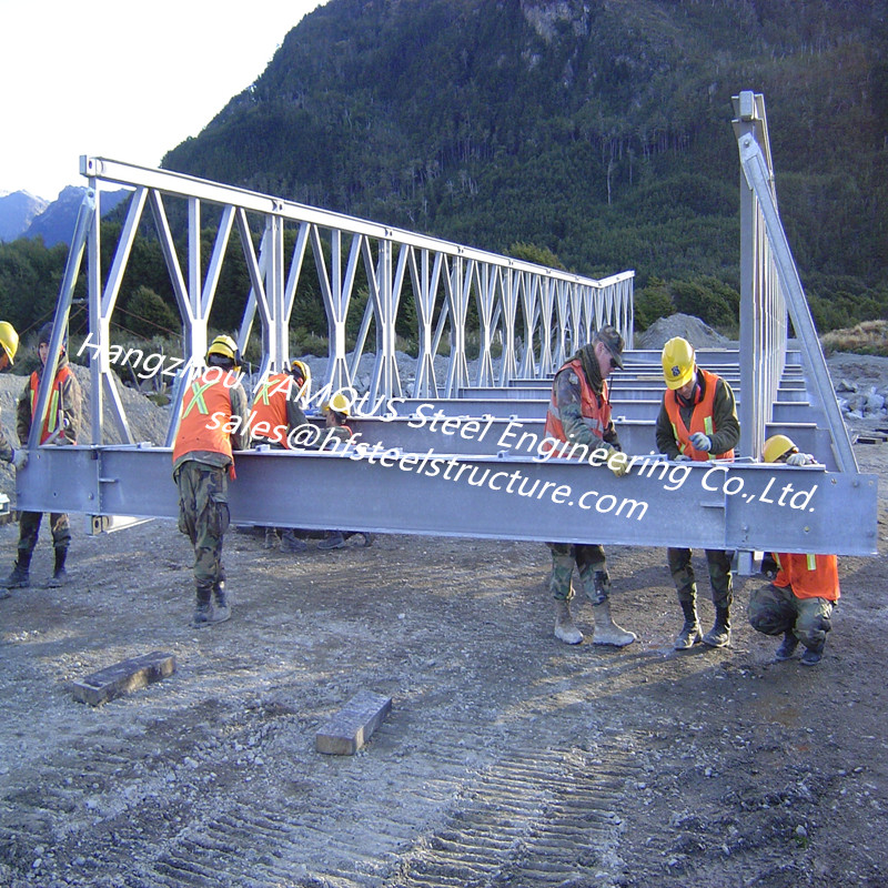Compact 200 Mabey Bridge System Modular Prefabricated Steel Panel Bridge For Sale