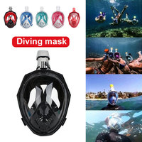 Durable Breather Pipe Breathing Tool Natatorium Swimming Mask Anti Fog Diving Mask Set Adult Swimming Fins Snorkel Long Dive Fin
