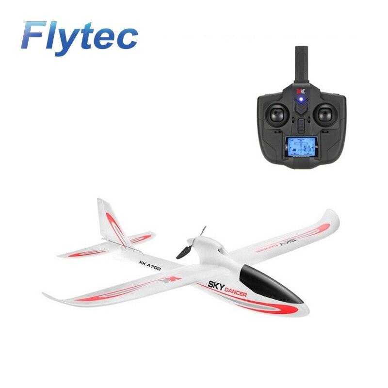 XK A700 Ciel Danseur 2.4G 3CH 750mm Envergure à voilure Fixe RC Avion OEB RTF Drone Compatible avec FUTABA S-FHSS