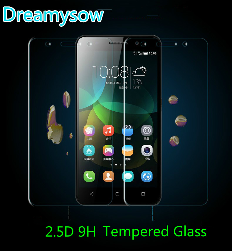 Tempered Glass Screen Protector For Huawei P8 P9 Lite mini 2017 Y6 II Pro honor 9lite 4C 5C Y5II <font><b>Y52</b></font> GR3 GR5 5X Film <font><b>Case</b></font> Cover