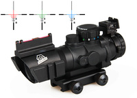 Hot Sale 4x32 Dual Illuminated Tactical Compact Rifle Scope With Fiber CL1 0105