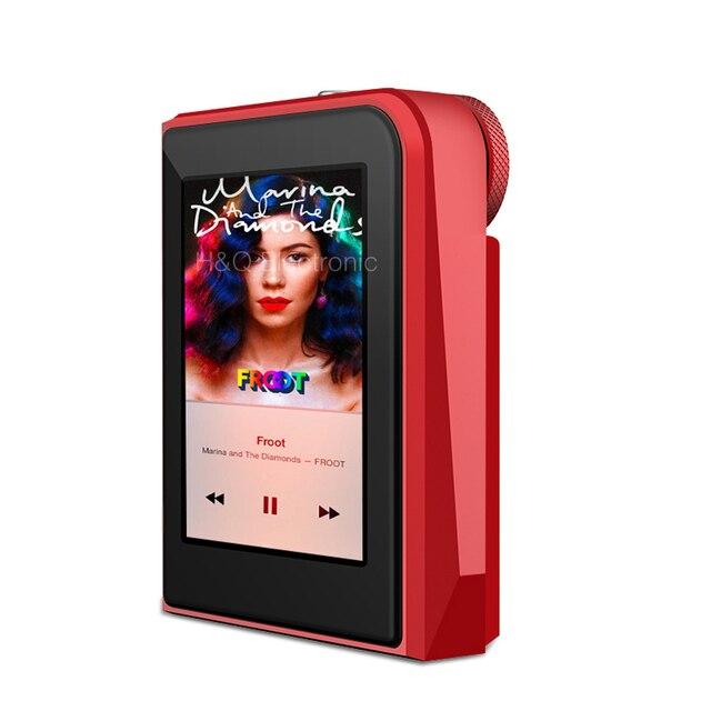 RUIZU A50 DAP HD Lossless Mini Sport MP3 Player With 2.5 Inch Screen HIFI Music Player Support 128G TF Card/DSD256 Audio Player 3
