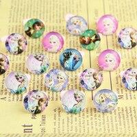 100pcs Lovely Children Girl Kinder Lucite Cartoon Ring Resin Princess Pretty Wedding Wholesale Jewellery Mix Lots