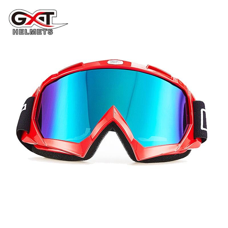 Genuine GXT Motocross Goggles Glass Motorcycle ATV MTB Windproof Skiing Skate Goggles Glass Dirt bike Helmet Goggles Lens