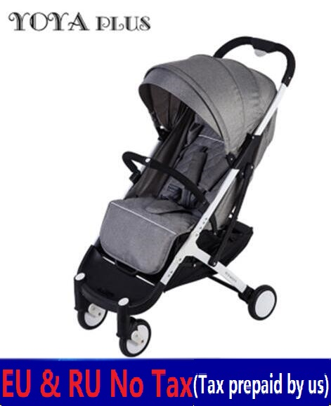 Europe No tax 2018 YOYAPLUS baby stroller lightweight folding umbrella car can sit can lie ultra-light portable on the airplane europe and ru no tax baby stroller ultra light can sit can lie portable umbrella stroller folding summer strollers baby