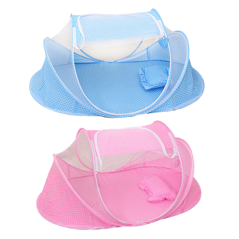 Baby Bedding Mother & Kids Radient 3pcs/set Baby Infant Bedding Crib Netting Foldable Baby Music Mosquito Nets Bed Mattress Pillow Complete Range Of Articles