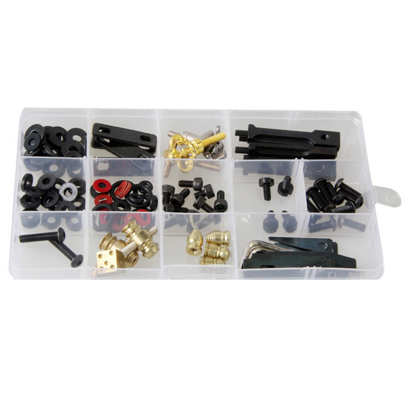 Portable Tattoo Repair Tools Accessories Set with Box for Tattoo Machine Device Kit Parts Supplies High Quality 44pcs set mountain bike patchs maintenance repair box diagnostic tools kit valuables cycling chain case bicycle accessories