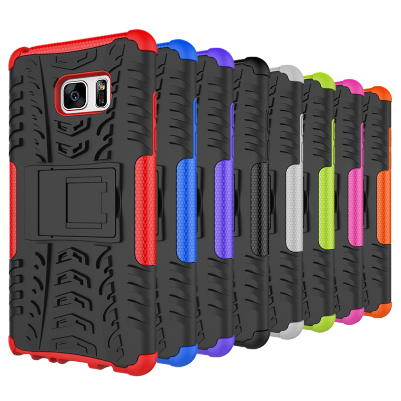 Silicone Phone Case For Samsung Galaxy Note 7 SM-N930F N930F Shockproof Holder Full Cover Case For Samsung Galaxy Note 7 Case