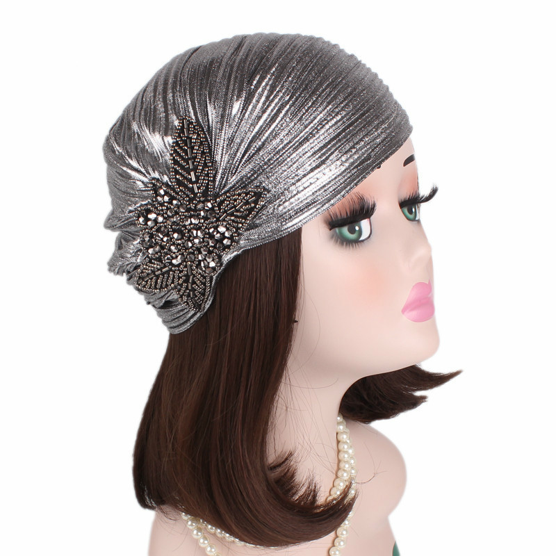 New Woman Hijabs Turban Head Cap Hat Beanie Ladies Hair Accessories Muslim Scarf Cap Hair Loss