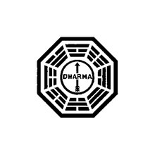 15*15CM Lost Dharma Initiative Originality Vinyl Car Sticker Decoration Home Wall Auto Rear Windshield Window Waterproof Decal(China)