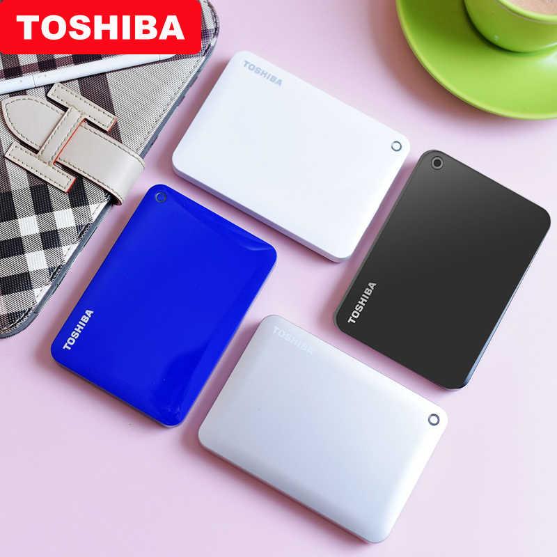 """100% Toshiba Canvio Advanced V9 USB 3,0 2,5 """"ТБ 2 ТБ 3 ТБ HDD портативный внешний жесткий диск мобильный 2,5 для ноутбука компьютера"""