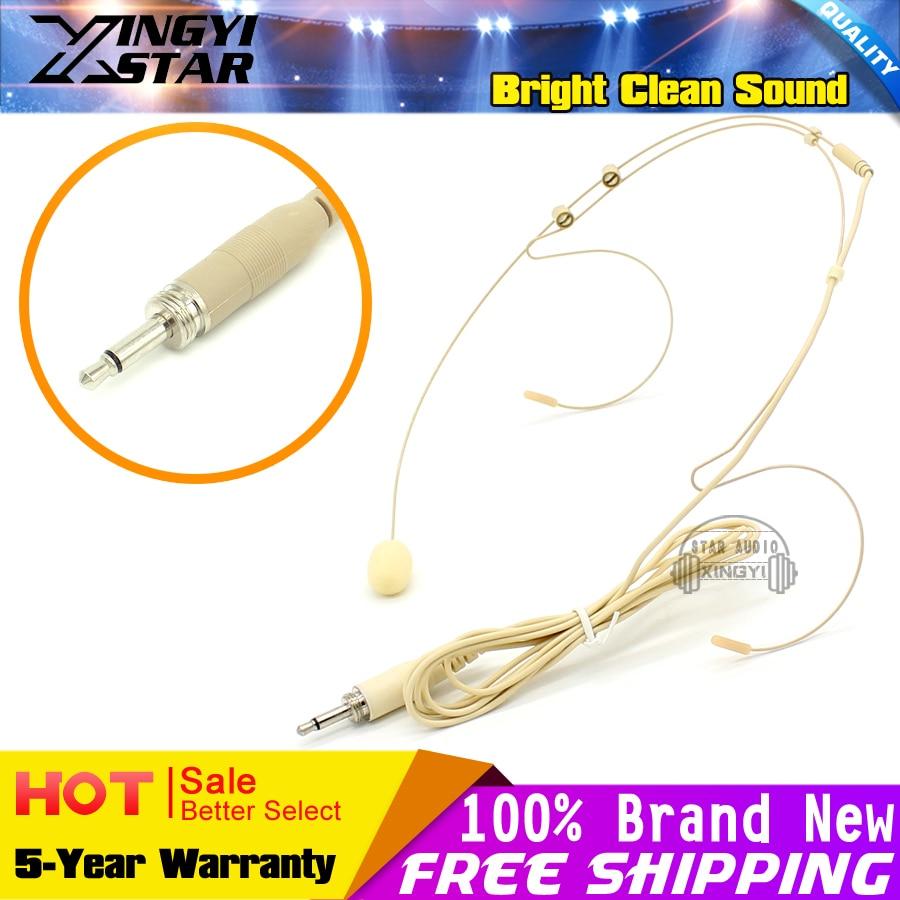 4 Stücke Pro Ohrbügel Headworn Kondensatormikrofon 3,5 mm - Tragbares Audio und Video