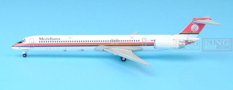 GJISS1512 Meridiana MD-80 I-SMET 1:400 GeminiJets commercial jetliners plane model hobby gjiss1512 meridiana md 80 i smet 1 400 geminijets commercial jetliners plane model hobby