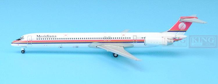 GJISS1512 Meridiana MD-80 I-SMET 1:400 GeminiJets commercial jetliners plane model hobby xx2858 jc hongkong b747 200f wings vr hvy 1 200 commercial jetliners plane model hobby