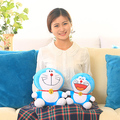 plush anime toys 25 cm/piece lovely kawaii doraemon plush toys doll pillow stuffed toys for kids wedding gift birthday gift