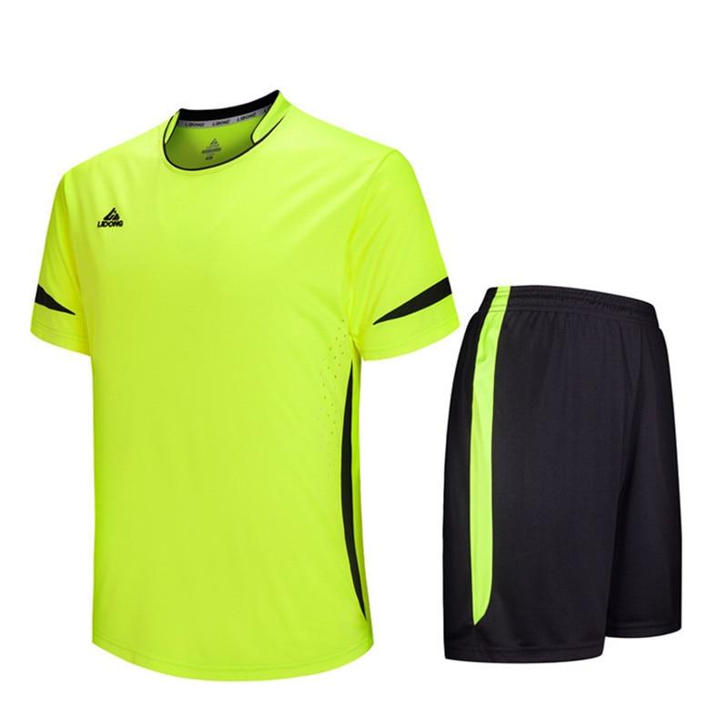Men futebol Soccer Jerseys Set 2016 2017 Youth Kids survetement Football Training Suit maillot de foot custom your name number