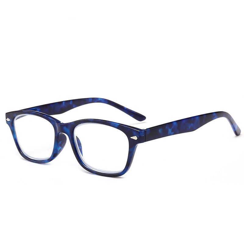 Unisex Folding Reading Glasses Magnifier Metal Frame Adjust Flexible Legs Presbyopic Eye Glasses Old Man Spectacles With Box L3 Women's Glasses