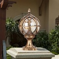 Vintage pilier lumière debout éclairage extérieur E27 lampes murales colonne lampe frontale paysage lumière parc led étanche jardin lumières