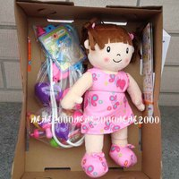 high quality doctor toy with a baby doll play house toy