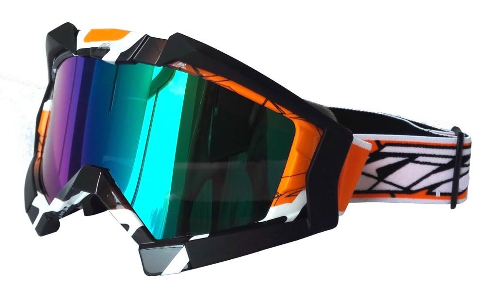 Открытый Спортивные очки CS, мотокросс шлем очки Лыжная Маска Мотоцикл Гонки Gafas