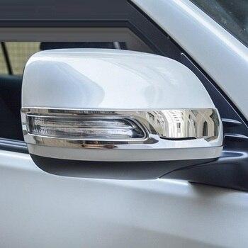 Kanat Ayna Dış Dayanıklı Modifiye Otomobil Aksesuarları Trim Etiket Şerit 10 11 12 13 14 15 16 17 18 19 toyota Prado IÇIN