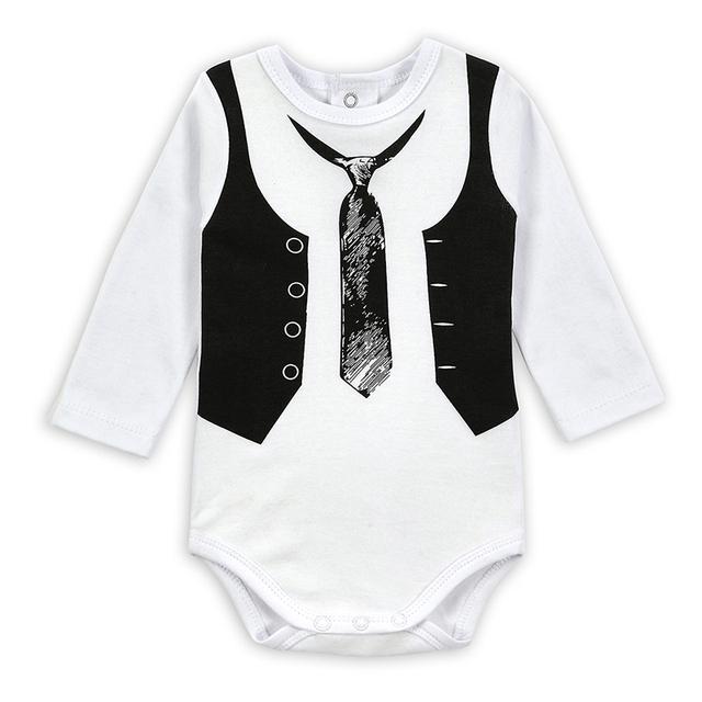 Gentleman Baby Boy Body Jumpsuit