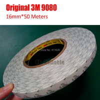 1x 16mm 50 Meter 3M9080 High Performance Double Sided Adhesive Tape Widely Using For LED Strip