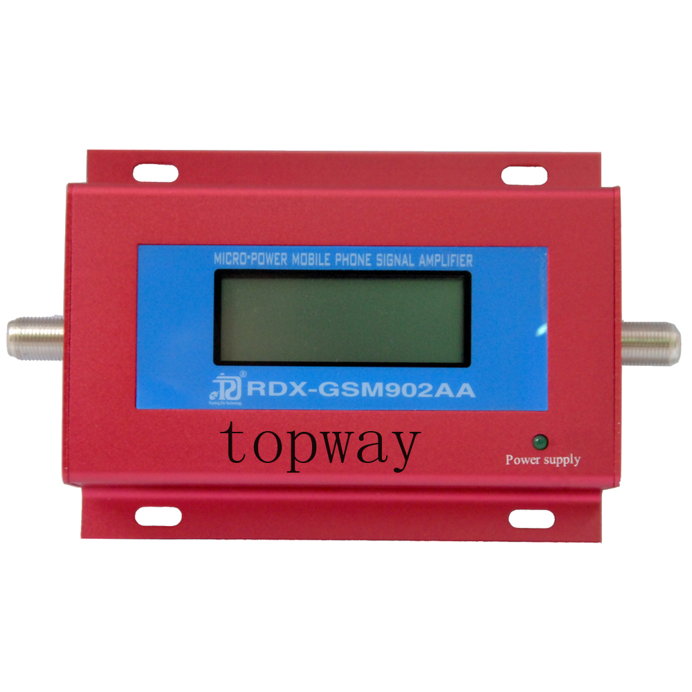 GSM SIGNAL REPEATER GSM902AA MOBILE PHONE GSM SIGNAL BOOSTER RF signal amplifier with LCD display power adapter