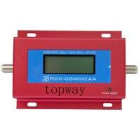 GSM SINYAL TEKRARLAYıCı GSM902AA CEP TELEFONU GSM SINYAL BOOSTER RF sinyal yükseltici LCD ekran güç adaptörü ile