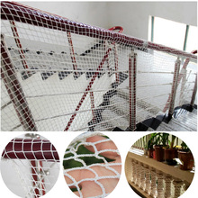 Child Safety Netting Children Balcony Stair Safety Fence Baby Thickening Fencing Protect Net Household Anti Falling Net marine bulwark ladder safety net safety net nylon rope springboard balcony stairs safety net rope 4 6m