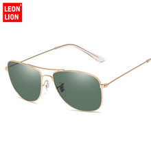LeonLion 2019 Pilot Sunglasses Women/Men Top Brand Designer Ocean Lens Sun Glasses For Women Outdoor Driving Oculos De Sol