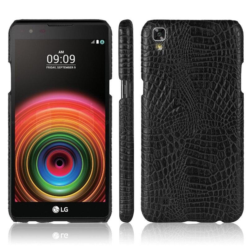 Funda de cuero para LG X Power K220DS XPower K220 parachoques del teléfono de caso para LG X Power K210 K 210 220DS 220 funda rígida de PC con marco
