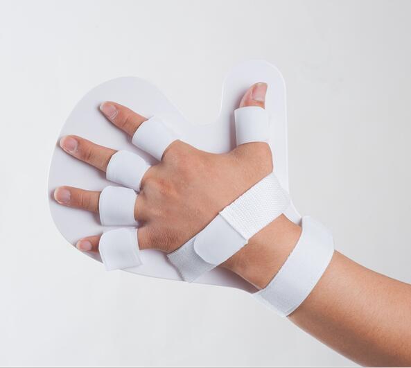 Free Shipping Hand Finger Wrist Orthosis Plate Rehabilitation Hemiplegia Cerebral Palsy Infarction Spasm Deformity Orthotics finger device finger wrist hand orthosis with ball stroke hemiplegia rehabilitation training equipment