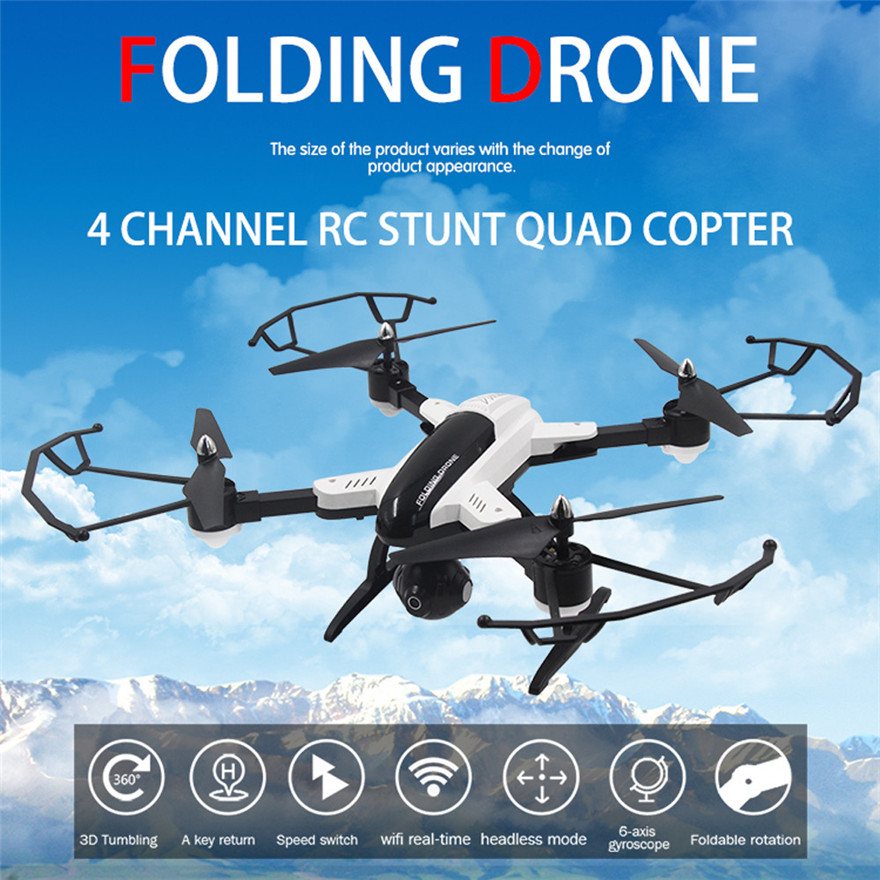 High Quqlity SY X33 Altitude Hold w/ HD Camera WIFI FPV RC Quadcopter Drone Selfie Foldable Birthday Gift For Kid Toys Wholesale  high quqlity jjrc v686 5 8g fpv headless mode rc quadcopter with hd camera monitor gift for children toys wholesale