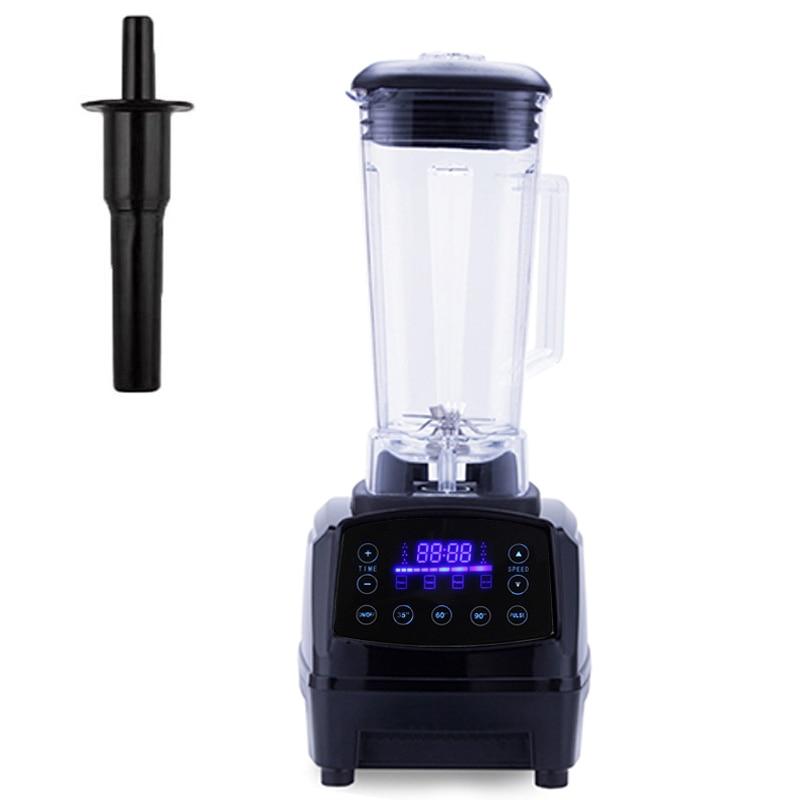Automatic Digital Smart Timer Program 2200W Heavy Duty Power Blender Mixer Juicer  Food Processor Ice Smoothie Bar Fruit powerful blender blender mixerblender mixer juicer - AliExpress