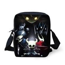 ELVISWORDS Flaps Messenger Bags Small Women Hollow Night Prints Pattern Crossbody Fashion Design Mini Shoulder Purses