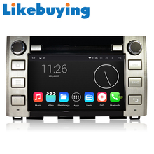 Likebuying 1024*600  Car 2 Din DVD GPS Radio Stereo Navigator QUAD CORE 16G Android 4.4.4 for Toyota Tundra