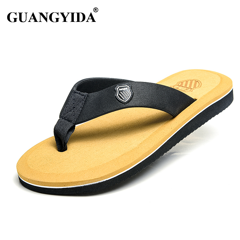 f76e337ef731f6 Aliexpress.com   Buy New 2016 Summer Men Casual Flat Sandals