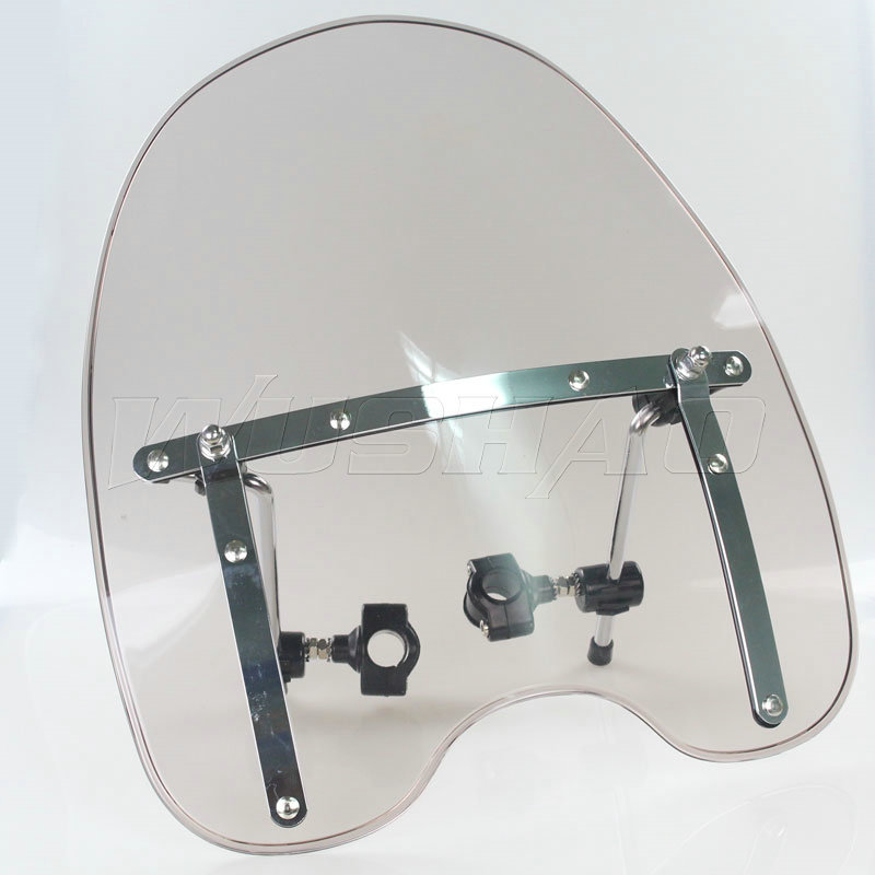 Automobiles & Motorcycles The Cheapest Price Smoke Windshield Windscreen For Harley Electra Glide Ultra Classic Limited Flhtk Peace Shrine Se Flhtcu Flhtcuse4/5/6/7/8 Frames & Fittings