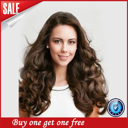 Perruque Cheveux Humain 6a Wavy Brazilian Virgin Glueless Full Lace & Frontal Wigs With Baby Hair Clips In Unprocessed Human