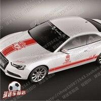 Car stickers full car Lahua England Premier League Liverpool football team emblem fans hood door trunk car stickers modified