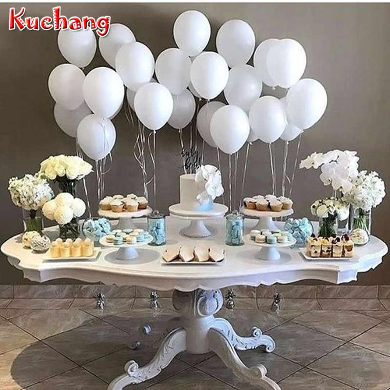 12PCS/lot Birthday Wedding Party Decor Supplies Helium Latex Balloon Matte 10inch 2.2g Tiffany Blue Pink Latex Children's toys