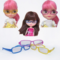 1PCS Dolls Glasses for 1 / 6 BJD Blyth 1/3 1/4 Doll Eyeglasses
