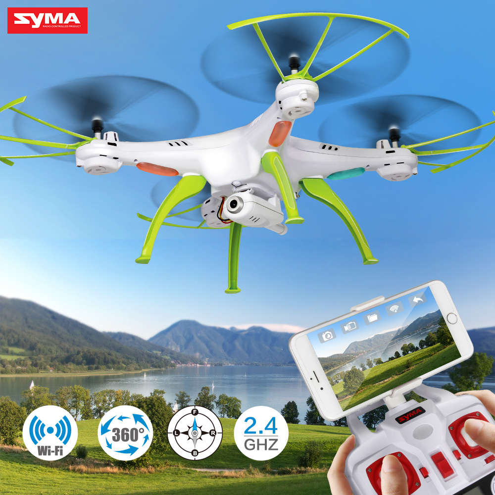 Professional Syma X5HW RC Selfie Drone With Camera Quadcopter Wifi FPV Transmission Remote Controll Dron Helicopter Toys For Boy syma x5hw fpv rc quadcopter drone with