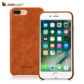 """Jisoncase Genuine Leather Phone Cases for iPhone 7 Luxury Back Cover Slim Mobile Phone Cases for iPhone 7 Plus 5.5"""" Anti-knock"""
