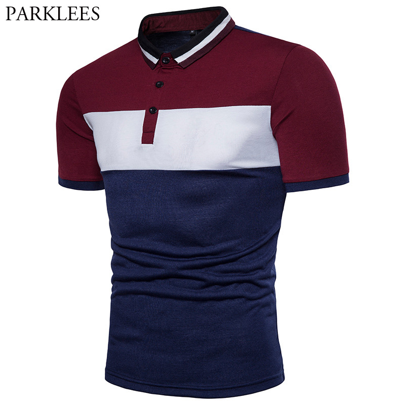 Fashion Summer Short Sleeve Polo Shirt Men 2018 Brand New Hit Breathable Color Polo Homme Causal Slim Fit Camisa Polo Masculina