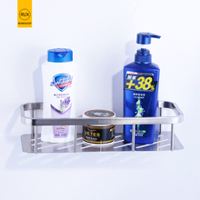 купить 304 stainless steel Bathroom Shelf Shower Shampoo Soap Cosmetic Shelves Bathroom Accessories Storage Organizer Rack Holder дешево